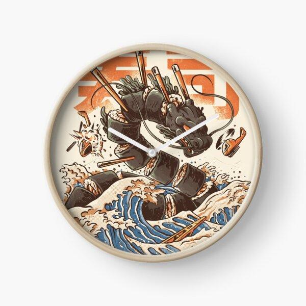 Great Sushi Dragon  Clock