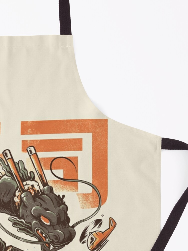 Alternate view of Great Sushi Dragon  Apron