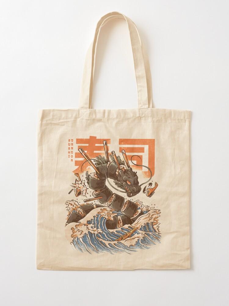 Alternate view of Great Sushi Dragon  Tote Bag