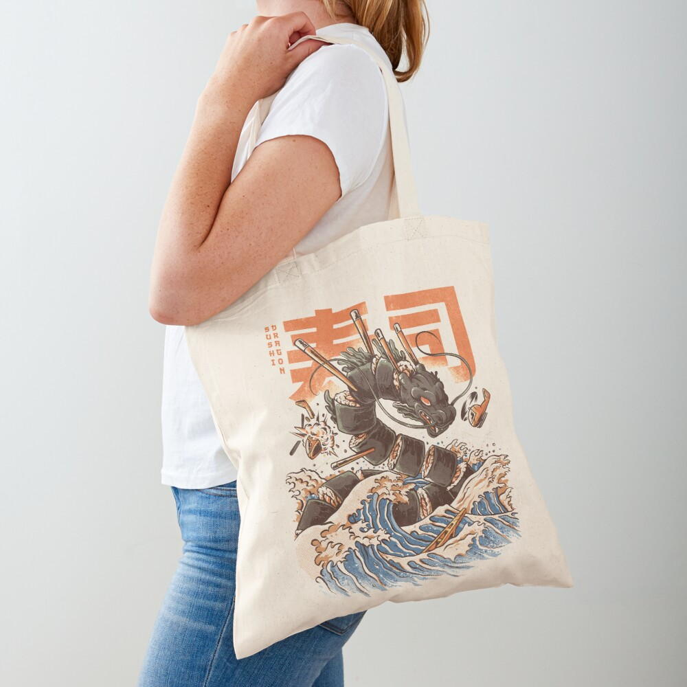 Great Sushi Dragon  Tote Bag