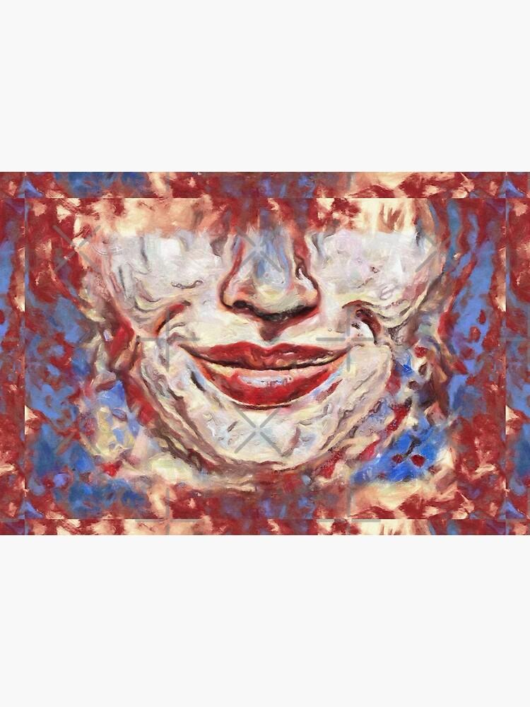 """Chaos"" painting - ""Smile"" Fine Art series by CaraSonrisa"