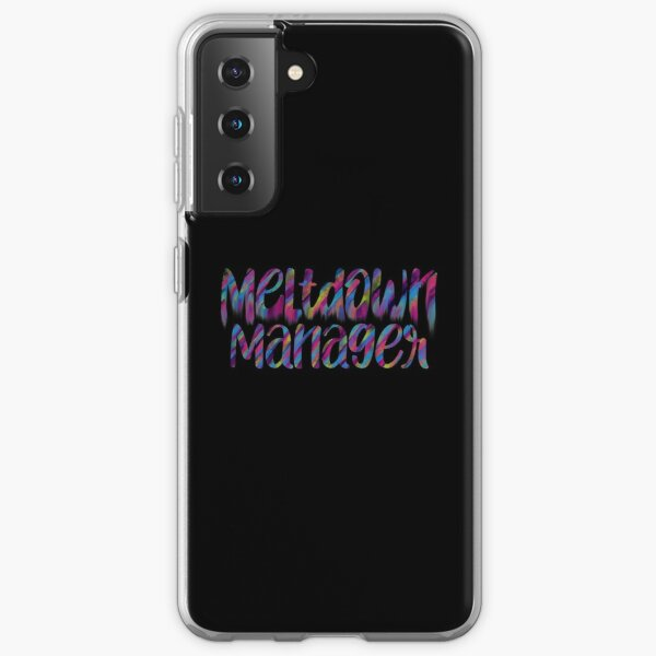 Meltdown manager Samsung Galaxy Soft Case