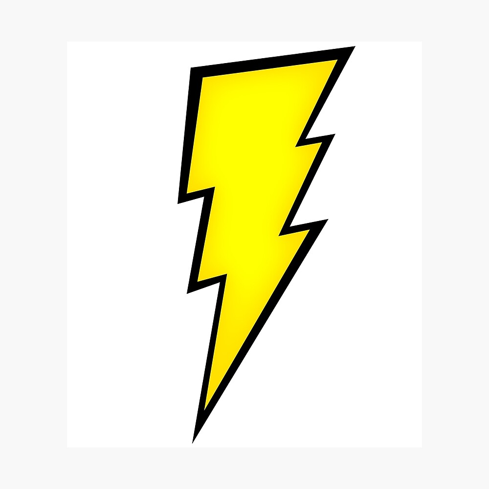 Lightning Bolt Zeus Poster By Dhia1995 Redbubble