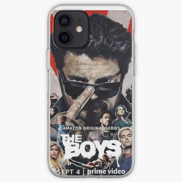The boys iPhone Soft Case