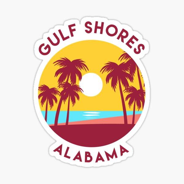 Gulf Shores, Alabama Sticker