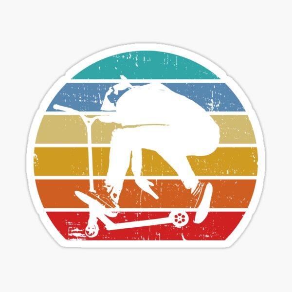 Stunt Scooter Sticker