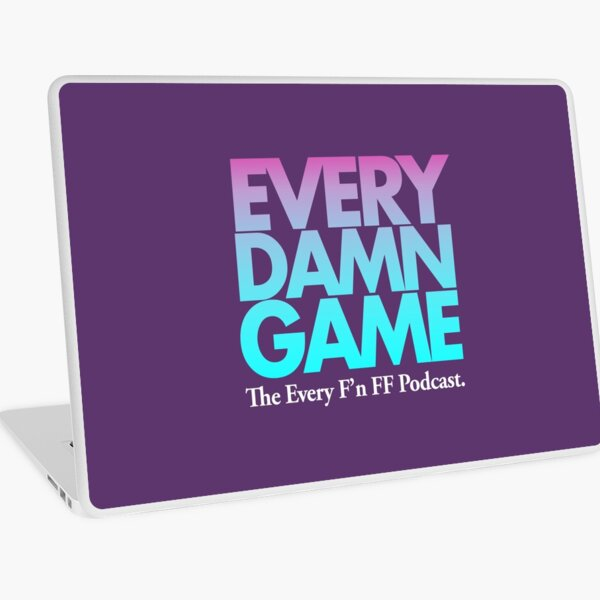 EVERY DAMN GAME Laptop Skin