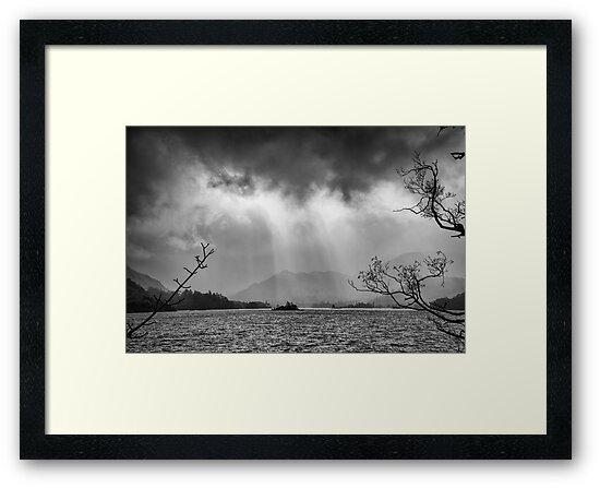 Ullswater, Cumbria Black & White\