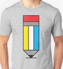 Mondrian's Pencil #2 Unisex T-Shirt