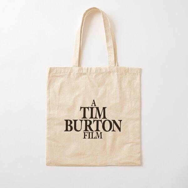 A Tim Burton Film Cotton Tote Bag