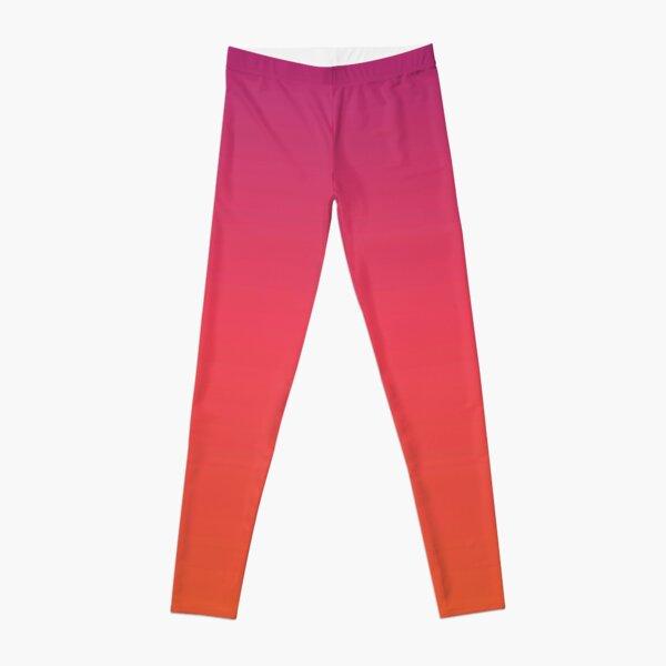 Pink gradient design  Leggings