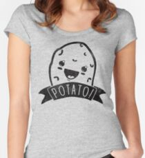 POTATO! Women's Fitted Scoop T-Shirt