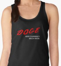 DOGE - Very Currency, Much Wow Women's Tank Top