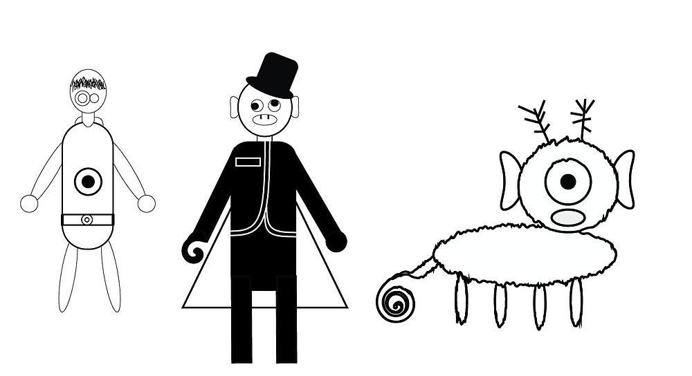 WOF Character Project Illustrator by mrichardson3
