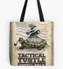 Tactical Turtle Doppel Bock Tote Bag