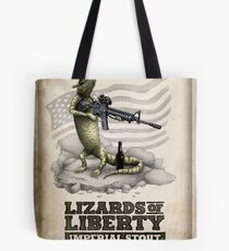 Lizards of Liberty Imperial Stout Tote Bag