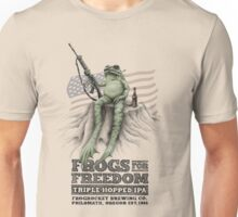 Frogs for Freedom Triple-Hopped IPA Unisex T-Shirt