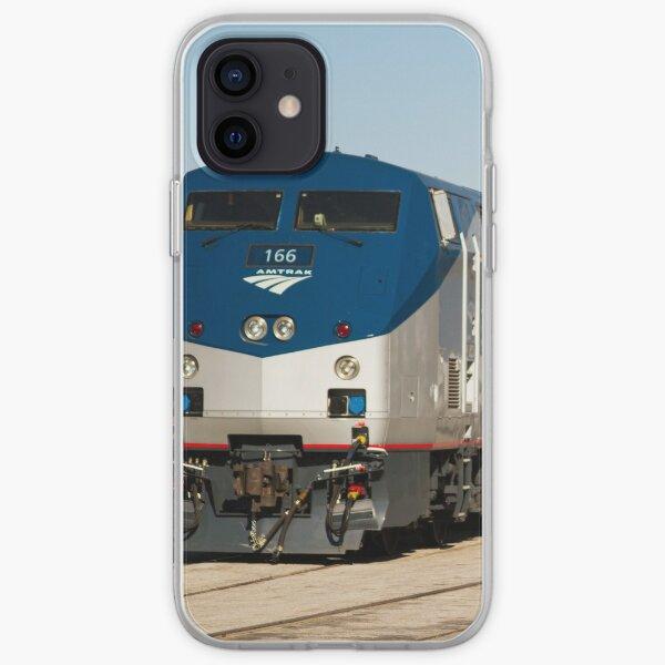 Amtrak at Union Station I iPhone Soft Case