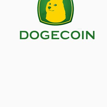 Dogecoin inspired by John Deere by shibewear
