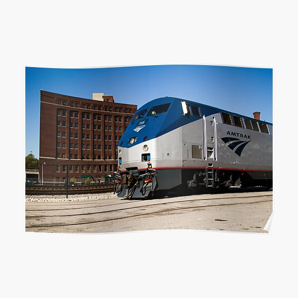 Amtrak at Union Station II Poster