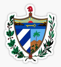 Coat of Arms of Cuba  Sticker