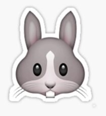 Rabbit Emoji Sticker
