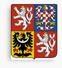 Coat of Arms of Czech Republic  Canvas Print