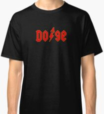 Dogecoin inspired by AC/DC Classic T-Shirt