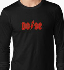 Dogecoin inspired by AC/DC Long Sleeve T-Shirt