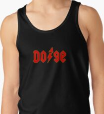 Dogecoin inspired by AC/DC Tank Top