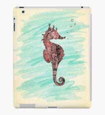 Vinilo o funda para iPad coral seahorse