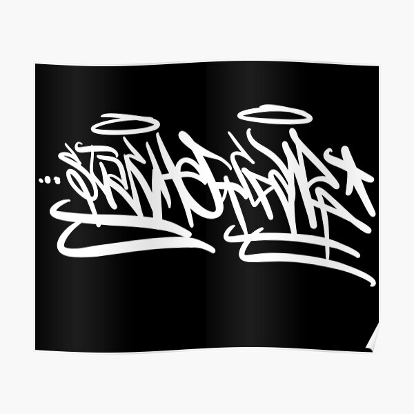 'Stache Handstyle Poster