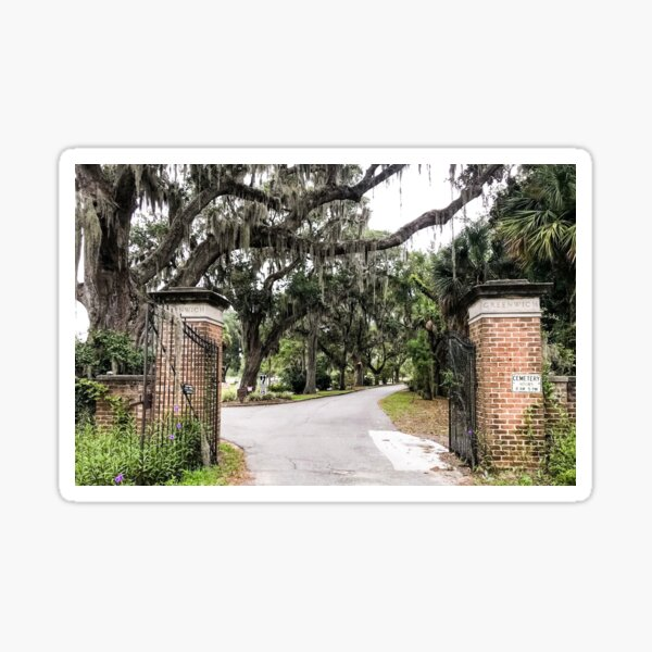 Welcome to Greenwich Cemetery Sticker