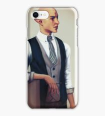 Solas in a Waistcoat iPhone Case/Skin