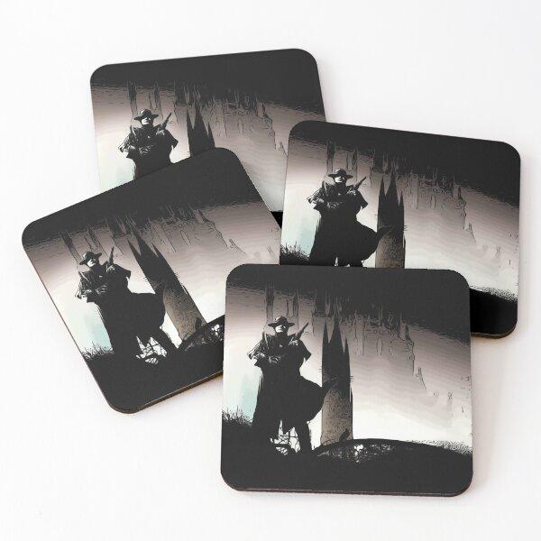 Tower Stephen King Gunslinger Coasters (Set of 4)