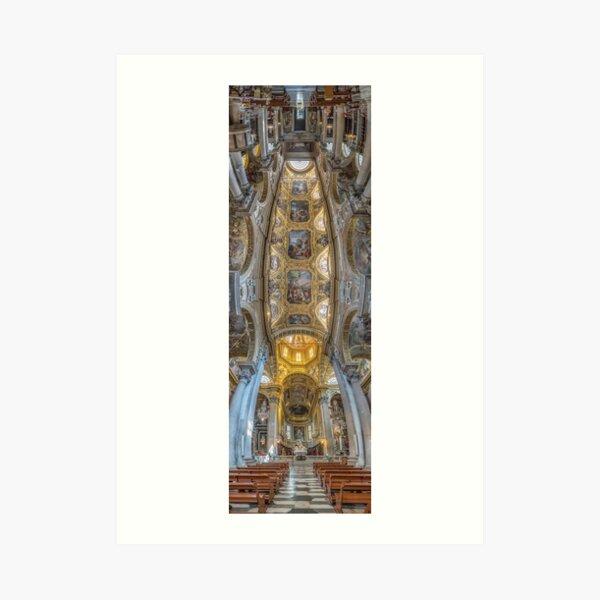 Santa Maria delle Vigne, Genoa, Italy Art Print