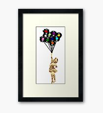 Carried Away! to the Future Framed Print