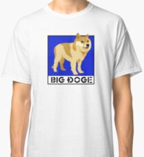 """Dogecoin inspired by """"Big Dogs"""" Classic T-Shirt"""