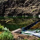 Crooked River Fenced In by Richard Bozarth