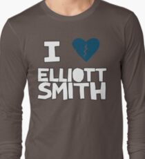 Elliott Smith Long Sleeve T-Shirt