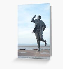 Eric Morecambe statue Greeting Card