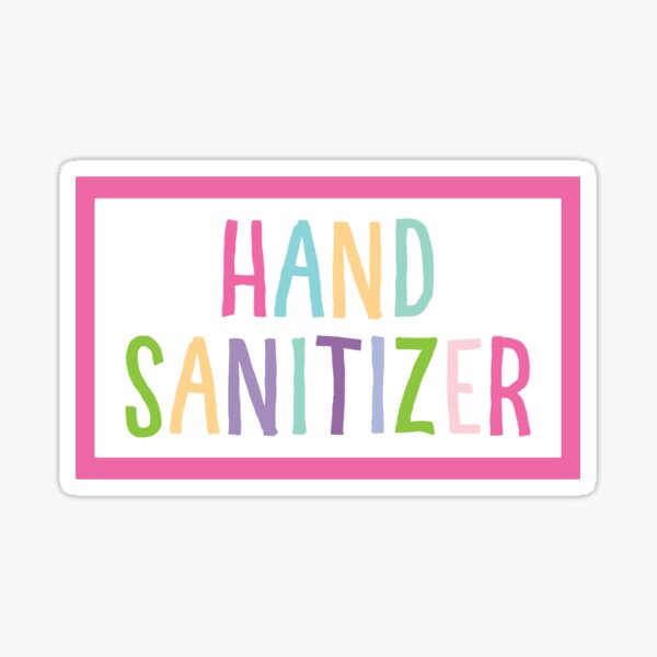 #1956518453 4Pcs Hand Sanitizers   Labels Special Listing