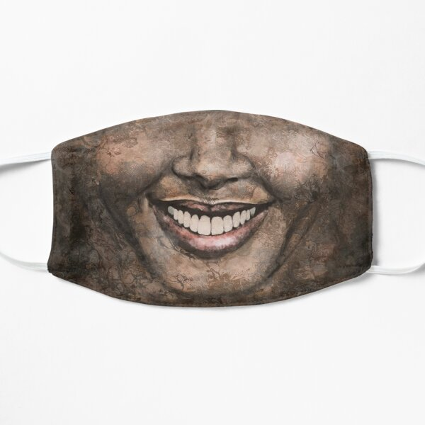 """Melt"" painting - ""Smile"" Fine Art series Mask"