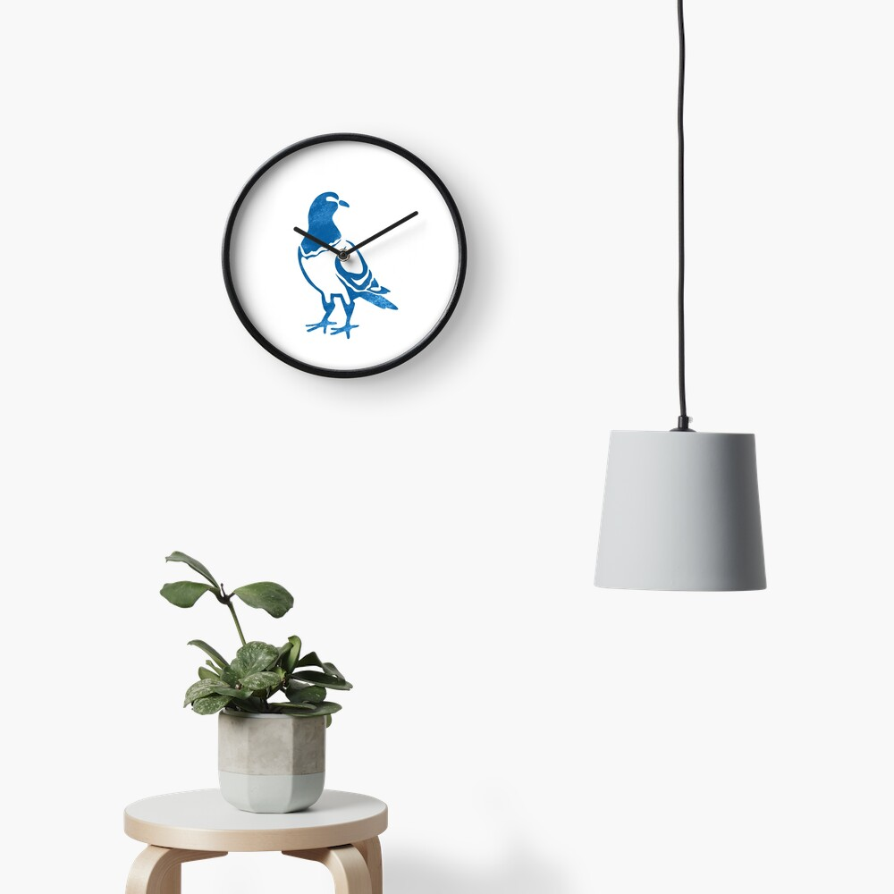 Pigeon! Clock