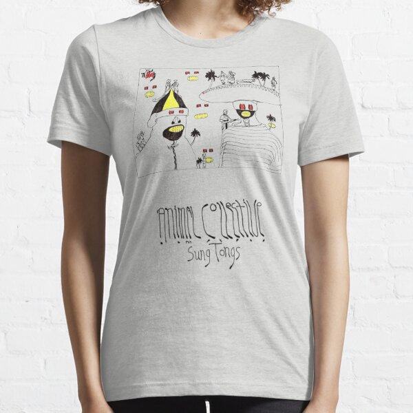 Animal Collective Sung Tongs Concept Art Camiseta esencial