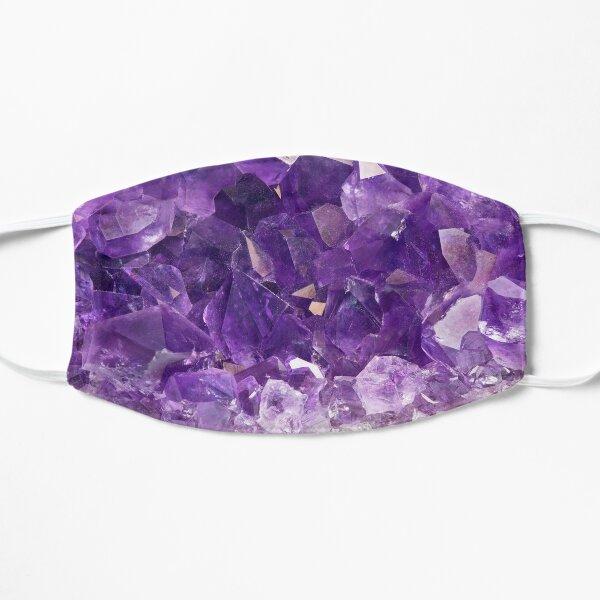 Purple Amethyst Crystal  Flat Mask