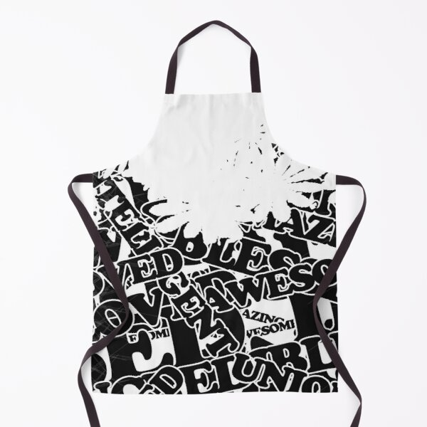 Unique, Loved, Awesome, Amazing: Inspirational Quote to Start your Day Apron