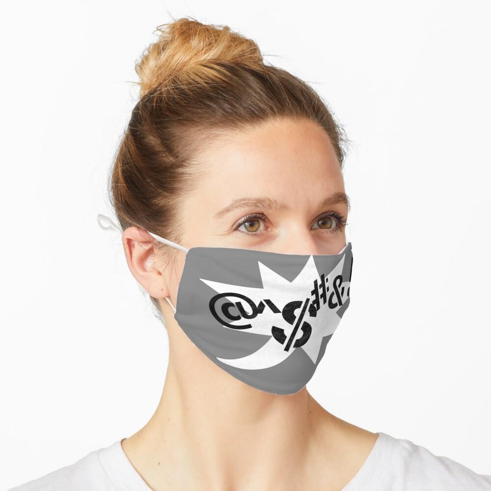 Censored (Stencil) Mask