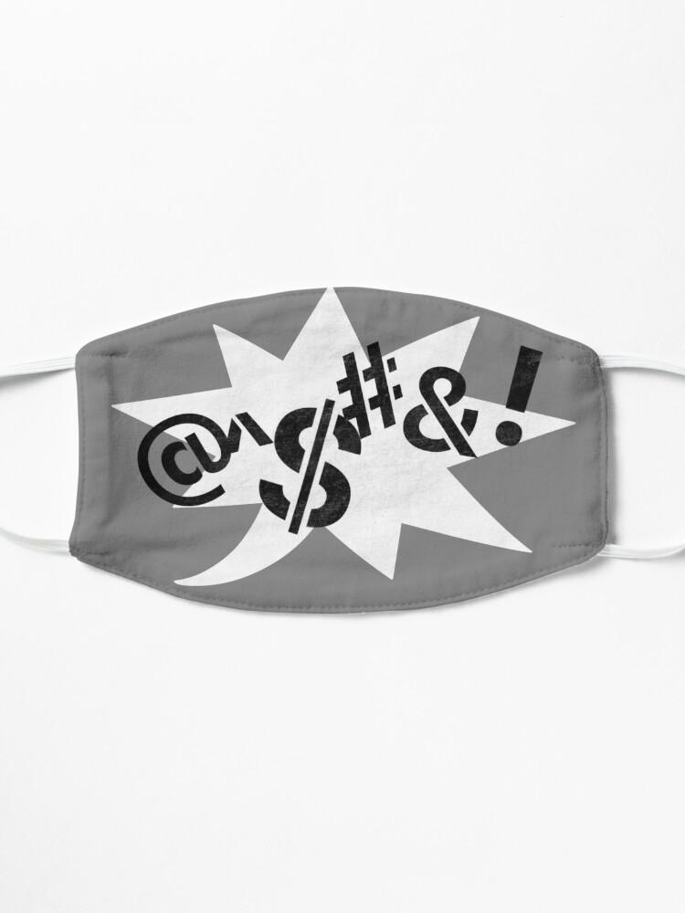 Alternate view of Censored (Stencil) Mask