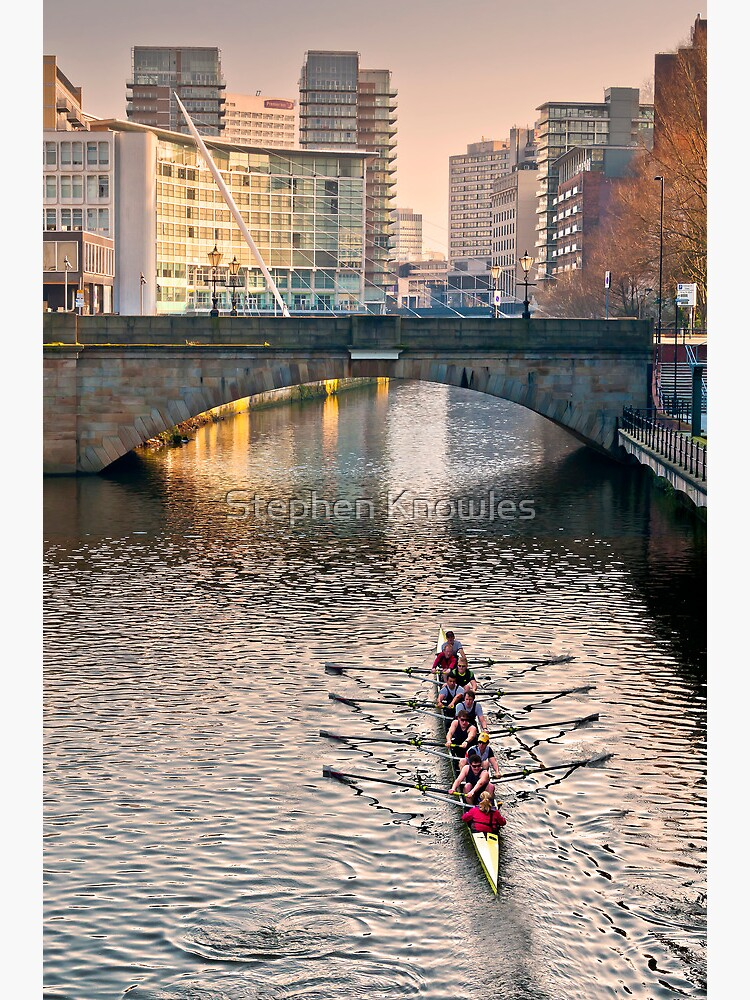 Rowing on the Irwell by stephenknowles